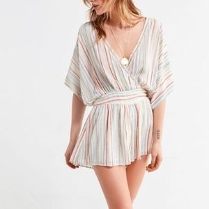 Urban Outfitters Moonstruck Surplice Romper